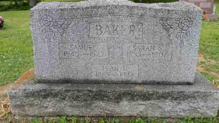 BAKER, SARAH S. - Meigs County, Ohio | SARAH S. BAKER - Ohio Gravestone Photos