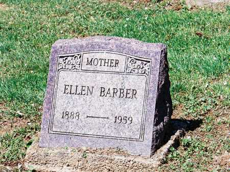 BARBER, ELLEN - Meigs County, Ohio | ELLEN BARBER - Ohio Gravestone Photos
