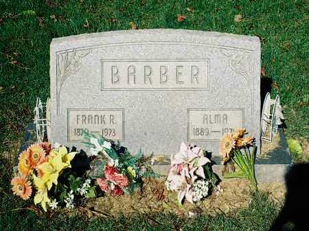 BARBER, FRANK R. - Meigs County, Ohio | FRANK R. BARBER - Ohio Gravestone Photos