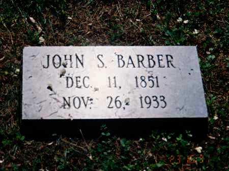 BARBER, JOHN S. - Meigs County, Ohio | JOHN S. BARBER - Ohio Gravestone Photos