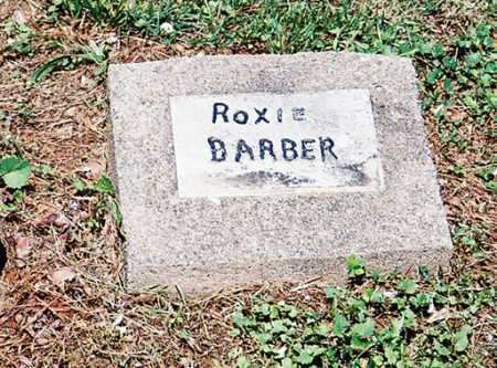 BARBER, ROXIE - Meigs County, Ohio | ROXIE BARBER - Ohio Gravestone Photos