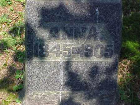 BARCLAY, ANNA - Meigs County, Ohio | ANNA BARCLAY - Ohio Gravestone Photos