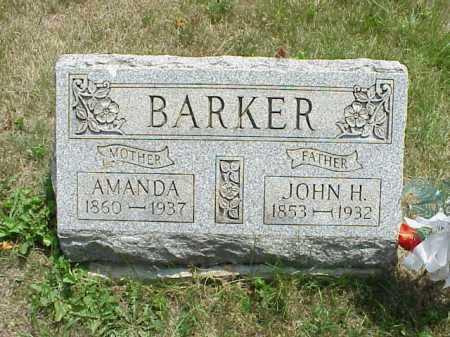 KENNEDY BARKER, AMANDA - Meigs County, Ohio | AMANDA KENNEDY BARKER - Ohio Gravestone Photos