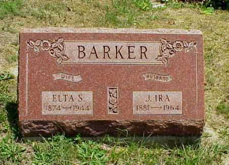 GRATE BARKER, ELTA S. - Meigs County, Ohio   ELTA S. GRATE BARKER - Ohio Gravestone Photos