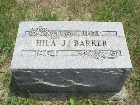 BARKER, HILA J. - Meigs County, Ohio   HILA J. BARKER - Ohio Gravestone Photos