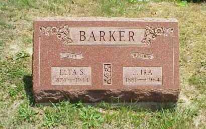 BARKER, J. IRA - Meigs County, Ohio   J. IRA BARKER - Ohio Gravestone Photos