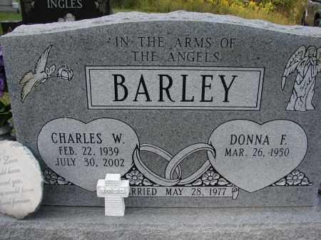 BARLEY, CHARLES W - Meigs County, Ohio   CHARLES W BARLEY - Ohio Gravestone Photos