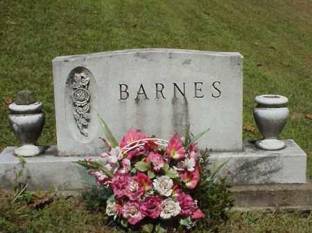 BARNES, MONUMENT - Meigs County, Ohio   MONUMENT BARNES - Ohio Gravestone Photos