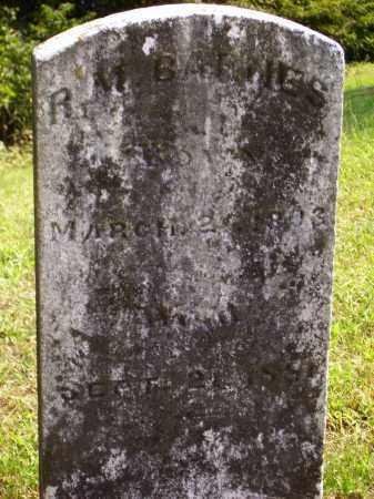 BARNES, R.M. - Meigs County, Ohio | R.M. BARNES - Ohio Gravestone Photos