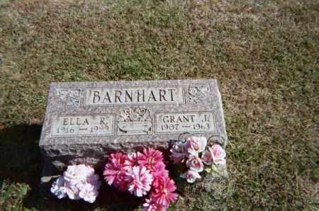 BARNHART, ELLA R - Meigs County, Ohio   ELLA R BARNHART - Ohio Gravestone Photos
