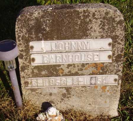 BARNHOUSE, JOHNNY - Meigs County, Ohio | JOHNNY BARNHOUSE - Ohio Gravestone Photos