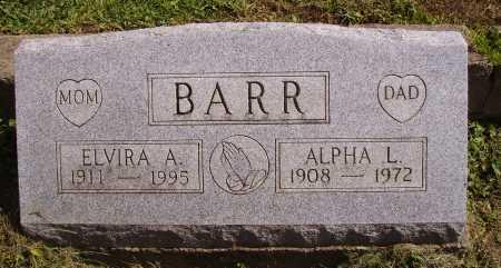 BARR, ALPHA L. - Meigs County, Ohio | ALPHA L. BARR - Ohio Gravestone Photos