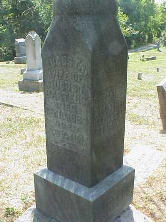 BARTELS, AUGUSTA - Meigs County, Ohio | AUGUSTA BARTELS - Ohio Gravestone Photos