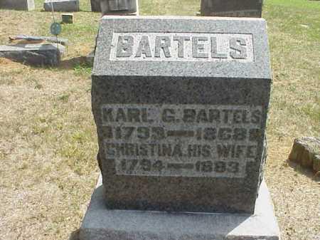 BARTELS, KARL G. - Meigs County, Ohio | KARL G. BARTELS - Ohio Gravestone Photos