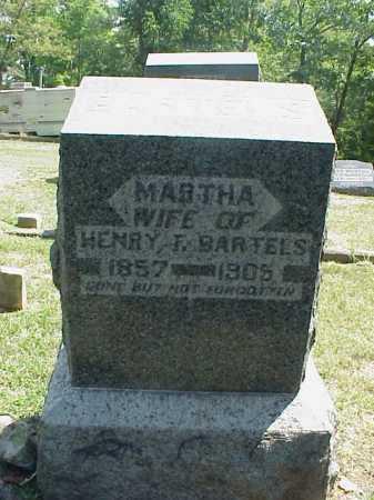 BARTELS, MARTHA - Meigs County, Ohio   MARTHA BARTELS - Ohio Gravestone Photos