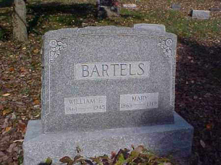 BARTELS, WILLIAM F. - Meigs County, Ohio | WILLIAM F. BARTELS - Ohio Gravestone Photos