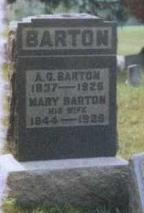 BARTON, MARY - Meigs County, Ohio | MARY BARTON - Ohio Gravestone Photos
