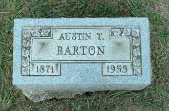BARTON, AUSTIN T. - Meigs County, Ohio   AUSTIN T. BARTON - Ohio Gravestone Photos