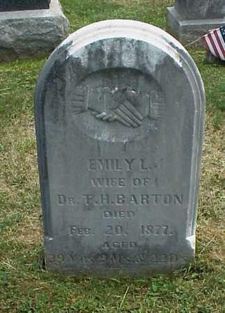 BARTON, EMILY L. - Meigs County, Ohio   EMILY L. BARTON - Ohio Gravestone Photos
