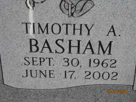 BASHAM, TIMOTHY A. - Meigs County, Ohio | TIMOTHY A. BASHAM - Ohio Gravestone Photos