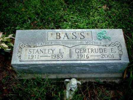 BASS, GERTRUDE E. - Meigs County, Ohio | GERTRUDE E. BASS - Ohio Gravestone Photos