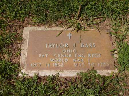 BASS, TAYLOR J. - Meigs County, Ohio | TAYLOR J. BASS - Ohio Gravestone Photos