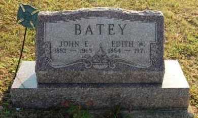 BATEY, JOHN E - Meigs County, Ohio | JOHN E BATEY - Ohio Gravestone Photos