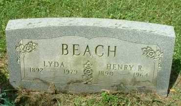 BEACH, LYDA - Meigs County, Ohio | LYDA BEACH - Ohio Gravestone Photos
