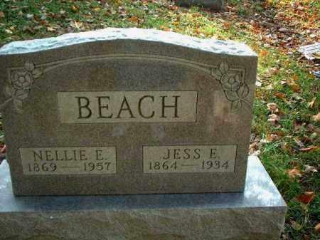 BEACH, NELLIE E. - Meigs County, Ohio | NELLIE E. BEACH - Ohio Gravestone Photos