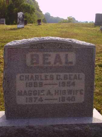 ELLIOTT BEAL, MAGGIE A. - Meigs County, Ohio | MAGGIE A. ELLIOTT BEAL - Ohio Gravestone Photos