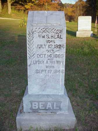BEAL, WILLIAM S. - Meigs County, Ohio | WILLIAM S. BEAL - Ohio Gravestone Photos