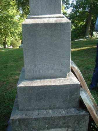 BEARHS, CHRISTIAN F. - Meigs County, Ohio | CHRISTIAN F. BEARHS - Ohio Gravestone Photos