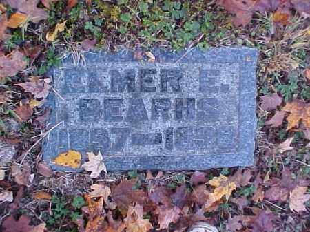 BEARHS, ELMER E. - Meigs County, Ohio | ELMER E. BEARHS - Ohio Gravestone Photos