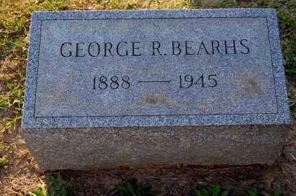 BEARHS, GEORGE R. - Meigs County, Ohio   GEORGE R. BEARHS - Ohio Gravestone Photos