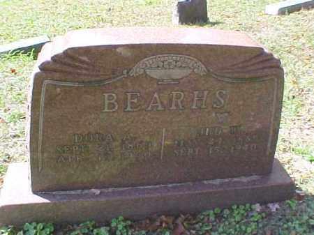 BEARHS, DORA A. - Meigs County, Ohio   DORA A. BEARHS - Ohio Gravestone Photos