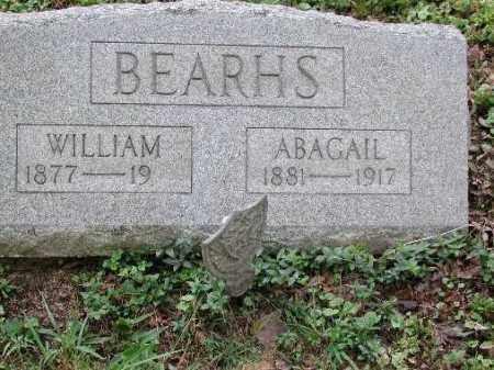 BEARHS, ABAGAIL - Meigs County, Ohio | ABAGAIL BEARHS - Ohio Gravestone Photos