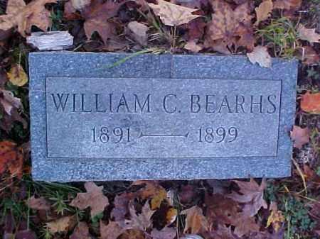BEARHS, WILLIAM C. - Meigs County, Ohio | WILLIAM C. BEARHS - Ohio Gravestone Photos