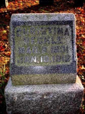 BECKLE, CHRISTINA - Meigs County, Ohio   CHRISTINA BECKLE - Ohio Gravestone Photos