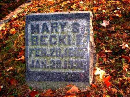 BECKLE, MARY S. - Meigs County, Ohio | MARY S. BECKLE - Ohio Gravestone Photos