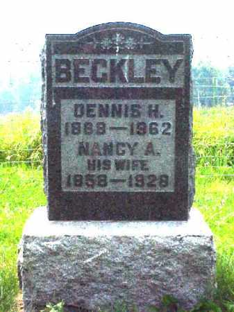 BECKLEY, NANCY A. - Meigs County, Ohio | NANCY A. BECKLEY - Ohio Gravestone Photos