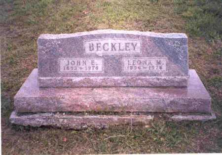 BECKLEY, LEONA M. - Meigs County, Ohio   LEONA M. BECKLEY - Ohio Gravestone Photos