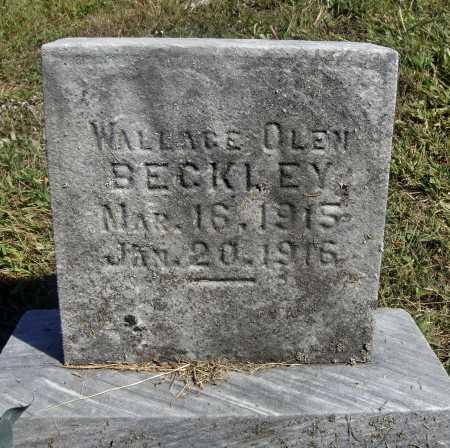 BECKLEY, WALLACE OLEN - Meigs County, Ohio   WALLACE OLEN BECKLEY - Ohio Gravestone Photos