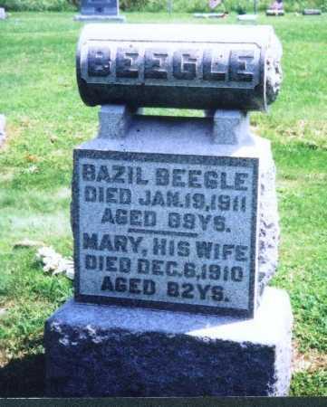 BEEGLE, BAZIL - Meigs County, Ohio | BAZIL BEEGLE - Ohio Gravestone Photos