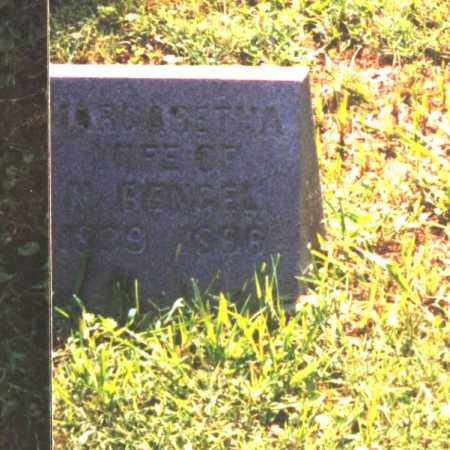 BENGEL, MARGARETHA - Meigs County, Ohio   MARGARETHA BENGEL - Ohio Gravestone Photos