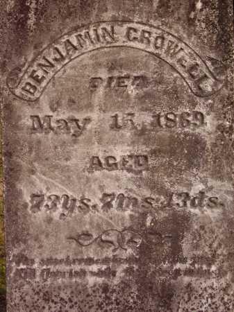 BENJAMIN, CROWELL - Meigs County, Ohio | CROWELL BENJAMIN - Ohio Gravestone Photos