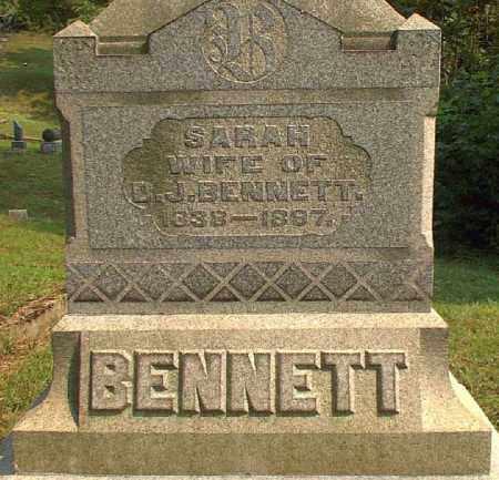 BENNETT, SARAH - Meigs County, Ohio | SARAH BENNETT - Ohio Gravestone Photos