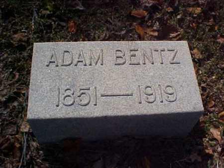 BENTZ, ADAM - Meigs County, Ohio | ADAM BENTZ - Ohio Gravestone Photos
