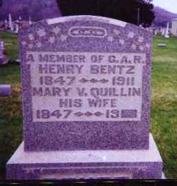 BENTZ, HENRY - Meigs County, Ohio | HENRY BENTZ - Ohio Gravestone Photos