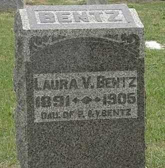 BENTZ, P. - Meigs County, Ohio   P. BENTZ - Ohio Gravestone Photos