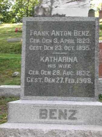 BENZ, FRANK ANTON - Meigs County, Ohio | FRANK ANTON BENZ - Ohio Gravestone Photos
